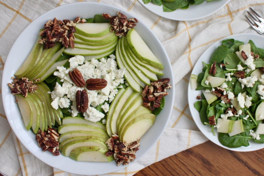 Salad With Pears And Cheese wallpapers HD