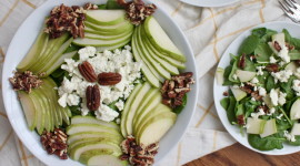 Salad With Pears And Cheese Best Wallpaper