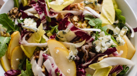 Salad With Pears And Cheese For IPhone
