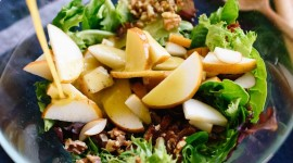 Salad With Pears And Cheese For Mobile