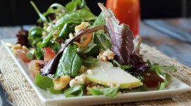 Salad With Pears And Cheese Image Download