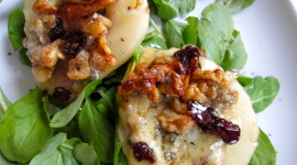 Salad With Pears And Cheese Photo Free