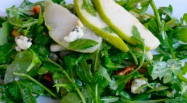 Salad With Pears And Cheese Wallpaper Free