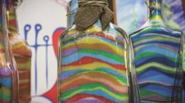 Sand Colored Bottle Wallpaper Full HD