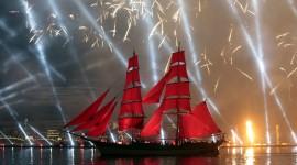 Scarlet Sails Desktop Wallpaper For PC