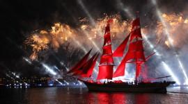 Scarlet Sails Desktop Wallpaper HD