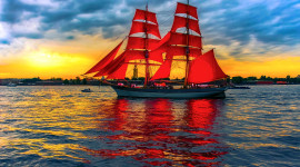 Scarlet Sails Image Download