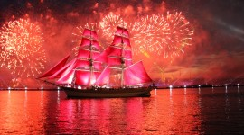 Scarlet Sails Photo Free