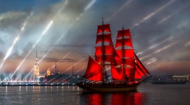 Scarlet Sails Wallpaper 1080p