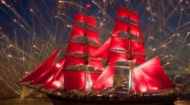 Scarlet Sails Wallpaper