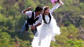 Skydiving Wedding Photo Download