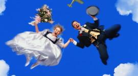 Skydiving Wedding Wallpaper Download