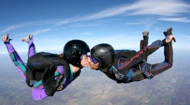 Skydiving Wedding Wallpaper For Desktop