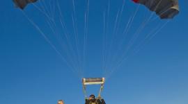Skydiving Wedding Wallpaper For Mobile