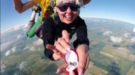 Skydiving Wedding Wallpaper HQ