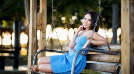 Swing Model Girl Photo Free#1