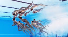 Synchronized Swimming Image