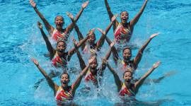 Synchronized Swimming Photo Free