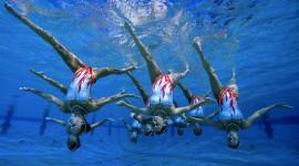 Synchronized Swimming Wallpaper 1080p