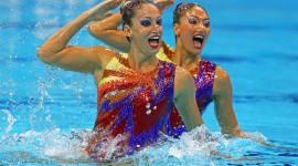 Synchronized Swimming Wallpaper