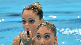 Synchronized Swimming Wallpaper For Desktop