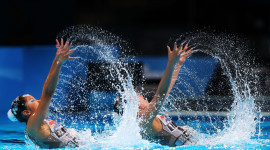 Synchronized Swimming Wallpaper For PC