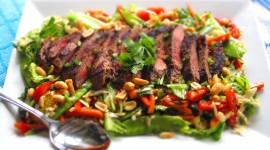 Thai Beef Salad Desktop Wallpaper