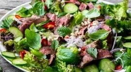 Thai Beef Salad Wallpaper Download