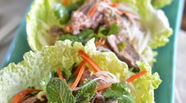Thai Beef Salad Wallpaper For IPhone#1