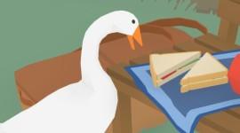 Untitled Goose Desktop Wallpaper For PC