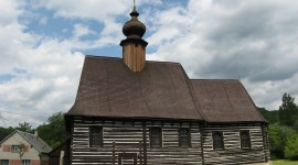 Wooden Church Desktop Wallpaper HD
