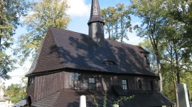 Wooden Church Photo Free