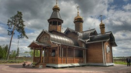 Wooden Church Wallpaper 1080p