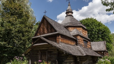 Wooden Church wallpapers high quality