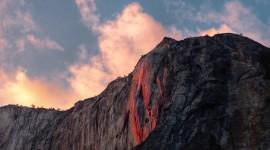 Yosemite Firefall Desktop Wallpaper