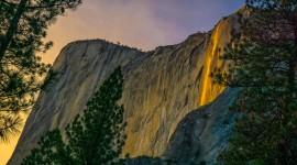 Yosemite Firefall Wallpaper For PC