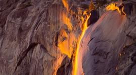 Yosemite Firefall Wallpaper Free