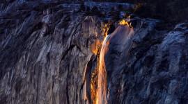 Yosemite Firefall Wallpaper HD
