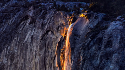 Yosemite Firefall wallpapers high quality