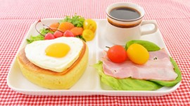4K Breakfast On A Tray Aircraft Picture