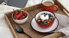 4K Breakfast On A Tray Image