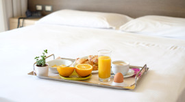 4K Breakfast On A Tray Image Download