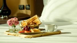 4K Breakfast On A Tray Picture Download