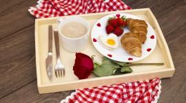 4K Breakfast On A Tray Wallpaper