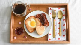 4K Breakfast On A Tray Wallpaper Full HD