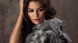 4K Girl Fur Model Photo