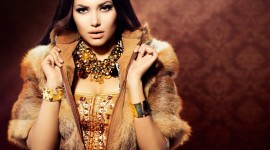 4K Girl Fur Model Wallpaper For PC