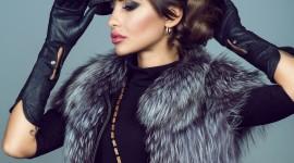 4K Girl Fur Model Wallpaper Full HD