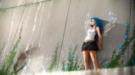 4K Girl Mini Dress Image Download