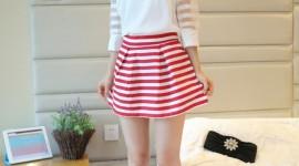 4K Girl Mini Dress Wallpaper For IPhone